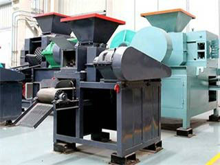 South Africa Dry Lime Briquette Machine