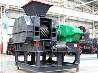 Limestone Powder Briquette Press Machine With