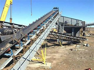 Coal Crusher And Conveyor System