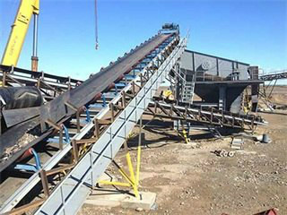 Crusher Discharge Conveyor For Coal Handling