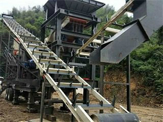 Coal Crusher And Conveyor Belt