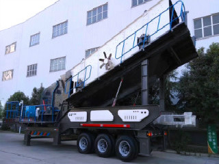 Working Principles Of An Mobile Impact Crusher