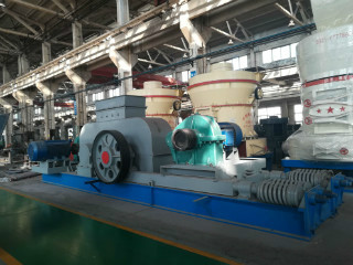 Advanced Double Roller Crusher For Sand Making